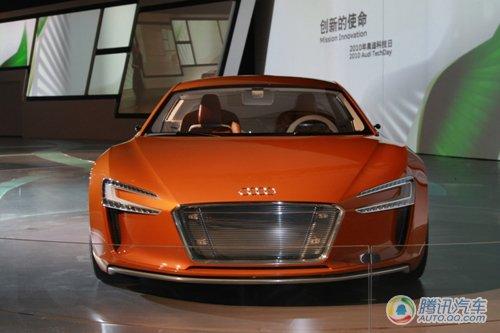 奥迪A3、e-tron跑车在华亮相 展示高效动力