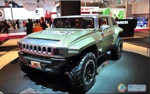 据介绍,风神SUV的外型将借鉴悍马HK的外型风格