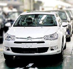 东风雪铁龙C5增新款 金属车漆珠光白到店