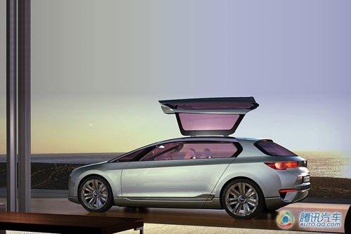 斯巴鲁Hybrid Tourer概念车北京车展亮相