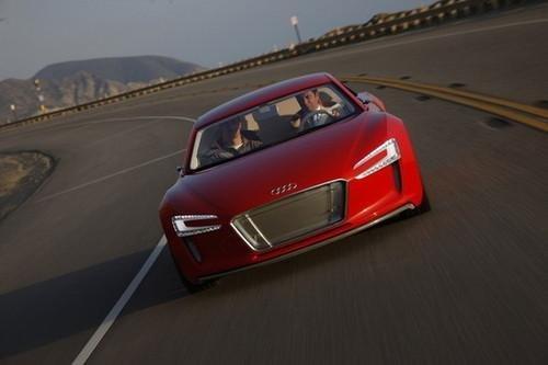 环保新纪元 激情试驾奥迪e-tron概念车
