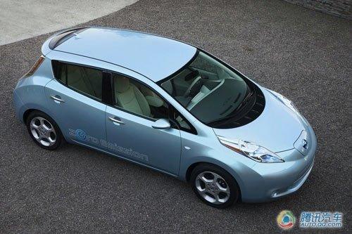 日产Leaf电动车在美公布售价 合22.4万元