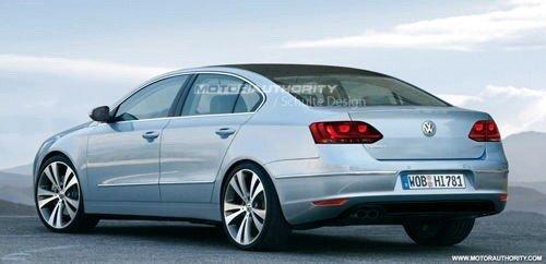 2011年底上市 一汽大众推长轴距版迈腾