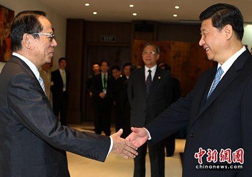 习近平会见参加博鳌论坛的各国领导人及前政要