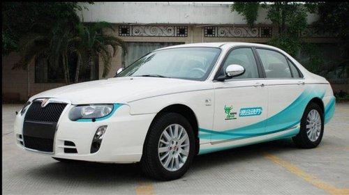 上汽纯电动概念车E1将亮相2010北京车展