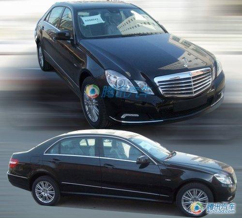 北京奔驰加长E级实拍曝光 预计售价45万起
