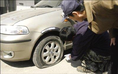 调查报告 五大原因导致停放车辆频频受损