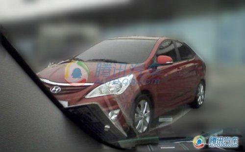车展后上市 北京现代RC轿车新车目录亮相