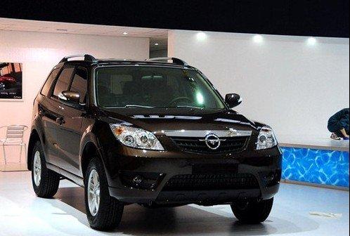 海马首款SUV骑士北京车展上市 预计售12万