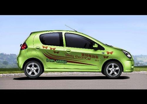 吉利新能源车族将首次集体亮相北京车展