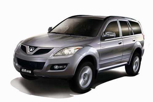 长城中型SUV哈弗H5欧风版将于5月上市