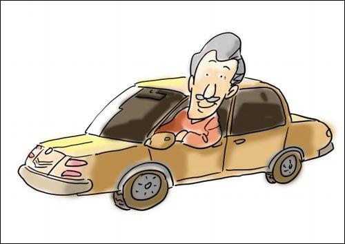 """老年人学车 儿女该不该支持""""老年车族"""""""