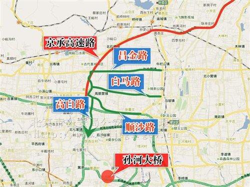北京车展期间部分道路交通管理措施