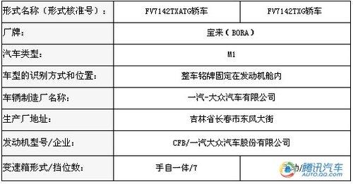 第三季度上市 宝来1.4T运动版北京车展亮相