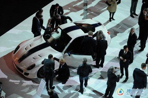 限量版法拉利599 GTO发布 北京车展亮相