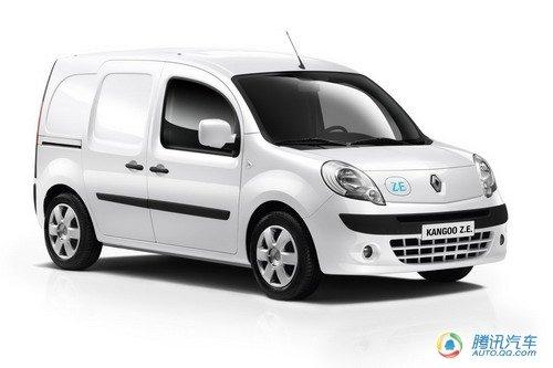 雷诺发布两款全新电动车 明年欧洲上市