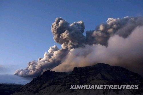 冰岛火山爆发航班延误 北京车展恐受影响