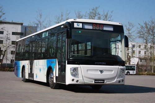 福田新能源客车添新订单 成城市公交首选