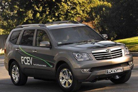 起亚发布燃料电池车霸锐FECV 2012年量产