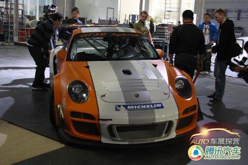 [车展探营]保时捷911 GT3 R混合动力赛车