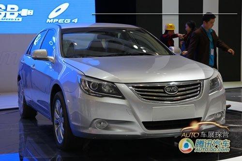 [车展探营]比亚迪中级车I6展台曝光
