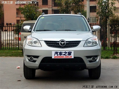 自主SUV海马S3骑士 明天在国际车展上市