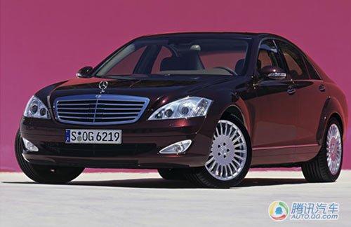 奔驰换代S级效果图曝光 2012年正式发布
