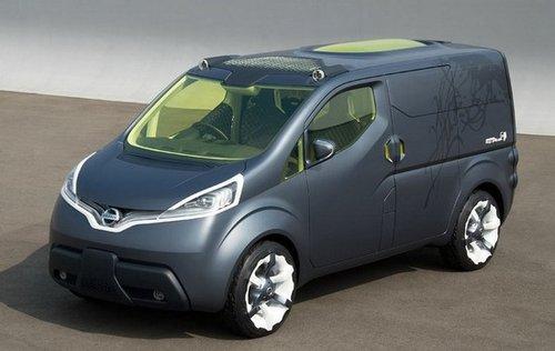 日产NV200北京车展首展 将于6月国产上市