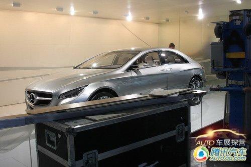 [车展探营]前瞻性科技品 奔驰F800 Style