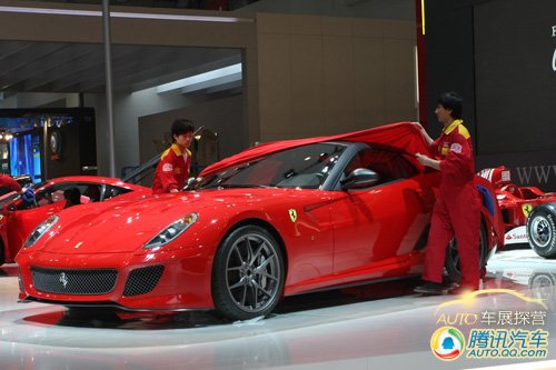 [车展探营]完美修炼 法拉利599GTO车展揭幕