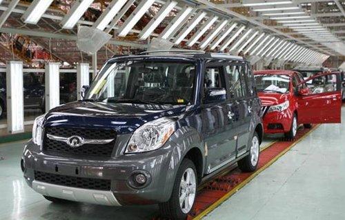 2007年10月29日长城汽车发展现状