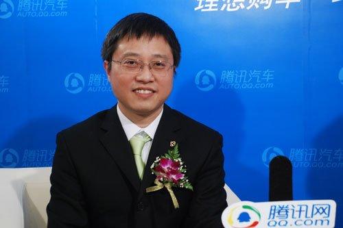 朱建:共享长安资源 昌河专注节能小车研发
