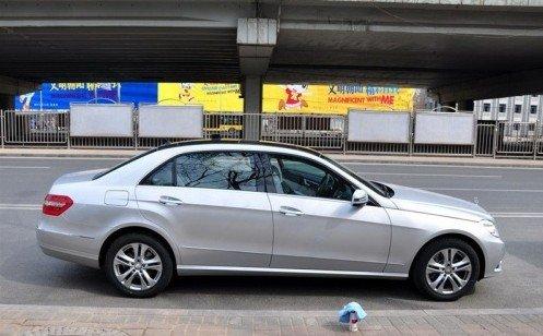 奔驰新长轴距E级轿车 北京车展全球首发