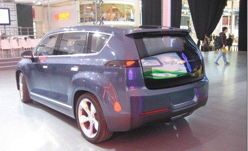 雪佛兰Volt MPV5电动概念车全球首发