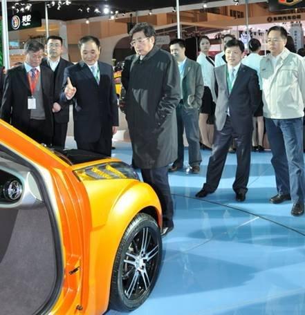 北京市市长郭金龙赞吉利大有希望