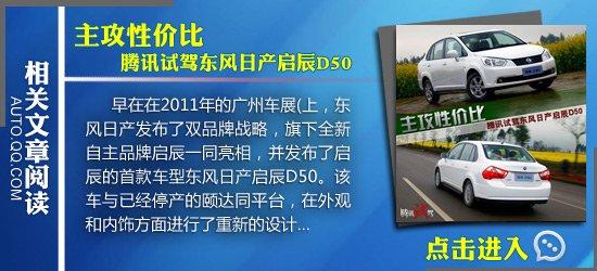 [国内车讯]启辰D50两厢版实车曝光 定名P50