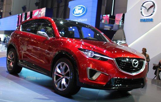量产版年内问世 马自达推紧凑级SUV概念车