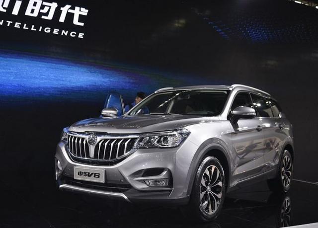 全新紧凑型SUV 中华V6预计售价8.98万起