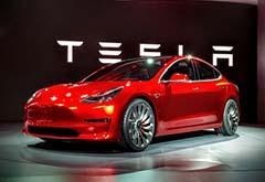 马斯克否认手工生产Model 3 但特斯拉股价仍下跌3.91%