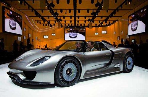 保时捷918世爵将量产 价值约65万美元