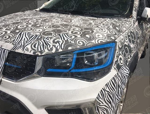 奇瑞首款纯电动SUV谍照曝光 或9月尾上市