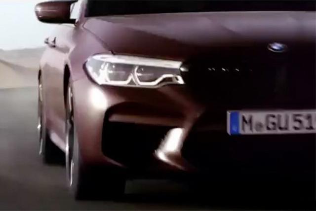家族猛兽 宝马新一代M5将于8月21日公布