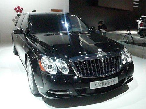 新迈巴赫62S成都车展中国上市 售价1070万