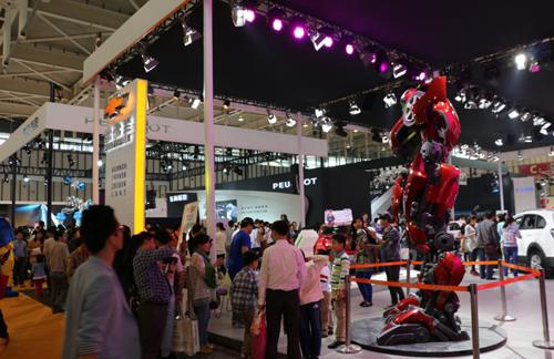 2014中国(南京)国际汽车博览会日前闭幕