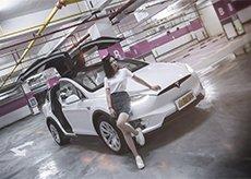 体验特斯拉Model X 100D