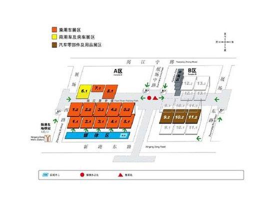 广州车展八大展馆重点展车观展指南