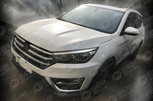 汉腾X5插电混动版谍照 有望2018年发布