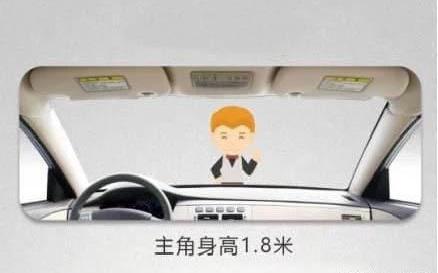 如何利用后视镜判断车距?这一招最好使!