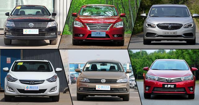 11月热销紧凑级轿车推荐 都卖疯了