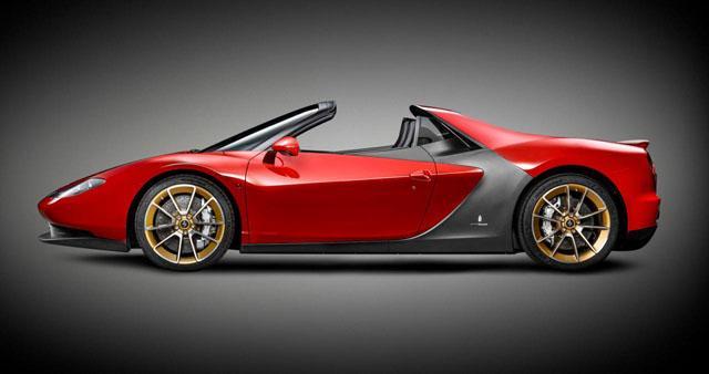 法拉利定制车Sergio官方图发布 限量6台